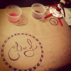 Elf sets up Cookie Decorating Party  #ElfontheShelf #ElfIdeas