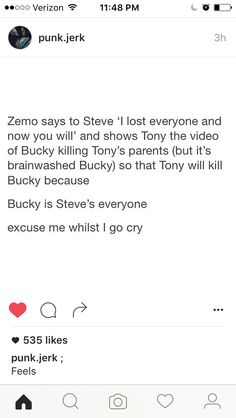 But also he's about to lose Tony, too, and he just lost Peggy.