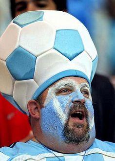 crazy sport fan