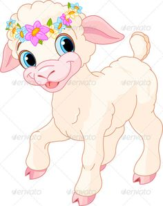 Easter lamb    #GraphicRiver         Easter lamb with circlet of spring flowers     Created: 19March12 GraphicsFilesIncluded: JPGImage #VectorEPS Layered: No MinimumAdobeCSVersion: CS Tags: EasterLamb #animal #cartoon #chaplet #character #circletofflowers #clipart #clip-art #coronal #coronet #crown #cute #easter #farm #flower #garland #holiday #illustrationandpainting #lamb #newlife #pastelcolors #plant #season #sheep #spring #vector #wreath #younganimal