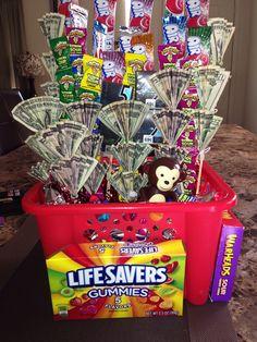 Birthday basket for kids