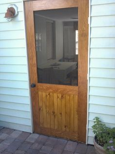 How To Build A Screen Door   Easy DIY Projects   Pinterest ...