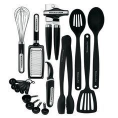 $44.47 Kitchenaid Classic 17-piece Tools and Gadget Set, Black KitchenAid http://www.amazon.com/dp/B005D6G4K6/ref=cm_sw_r_pi_dp_w4SZtb0HHDRVHJD0
