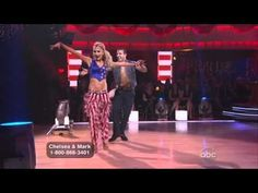 Chelsea Kane & Mark Ballas dancing the samba--one of my favorite Dancing with the Stars routine!
