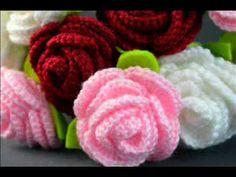 Crochet roses.