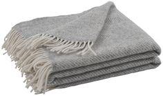 Neptune Cotswold Herringbone Throw, Shingle |Throws & Textiles