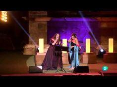 """▶ Dulce Pontes & Estrella Morente """"Canção do Mar""""- Premios Ceres Teatro 2013 -"""