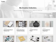 luna // Luna is a simple portfolio theme which highlights your project content in a beautiful way. Be sleek and sophisticated with a clean layout and a minimal design. The post luna appeared first on Drupal & WordPress addons. Minimalist Wordpress Themes, Best Free Wordpress Themes, Themes Free, Cool Themes, Beautiful Fonts, Drupal, Wordpress Template, Minimal Design, Creative Words