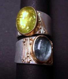 Rings by Regina Imbsweiler, Grovewood Gallery, Asheville NC--beautiful!