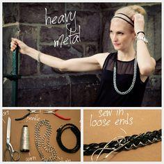 Chain Belt Necklace DIY Feature