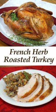 A holiday roasted turkey seasoned with French herbs pairs perfectly with a deep and flavorful Languedoc wine. #winePW