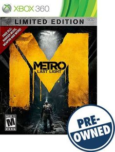 Metro: Last Light Limited Edition - PRE-Owned - Xbox 360