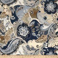 mobili funky e design Paisley Fabric, Ikat Fabric, Jacquard Fabric, Denim Fabric, Wall Fabric, Upholstery Fabric For Chairs, Chair Fabric, E Design, Wall Design