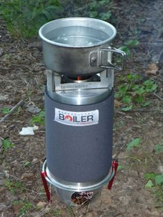 the boilerwerks : Backcountry Boiler chimney stove