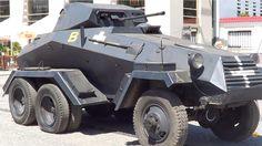 Original Sd.Kfz. 231/6-rad: The German Heavy Armoured Car which had its origin in Soviet Union