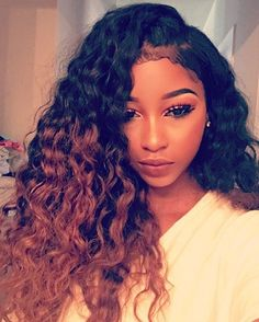 Curly Sew In Hairstyles Prepossessing Hair #sew In # Curly  Hair  Pinterest  Curly Black Girls