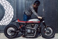 Yamaha XV950 Cafe racer