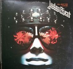Judas Priest, Hell Bent for Leather, Vintage Record Album, Vinyl LP, Classic Heavy Metal Rock Music, Rob Halford, Killing Machine Album by VintageCoolRecords on Etsy