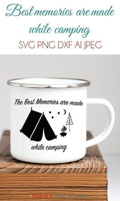 Free Camping SVGs | The best memories are made while camping | #freecampingsvg #campingmemories #campingsvg Cricut Vinyl, Vinyl Projects, Best Memories, Survival, Camping, Mom, Free, Campsite, Campers