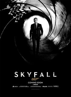 Bond is HERE, not falling. 'Skyfall's new poster.