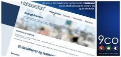 Look at the new homepage we designed for Habberstad AS.  Contact us www.9co.no