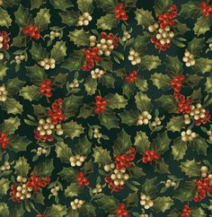 victorian christmas | 7249-5 - Victorian Christmas by Sara Morgan for Blue Hill Fabric