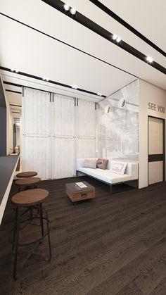 Apartment Showcase, Small Apartment Design, Small Apartments, Studio Decor, Deco Studio, Decoration Inspiration, Interior Design Inspiration, Living Room Colors, Living Room Decor