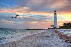 Biscayne #Lighthouse - #Florida    http://dennisharper.lnf.com/