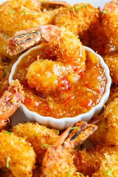 Coconut Shrimp with Sweet Chili Sauce. shrimp recipe Coconut Shrimp with Sweet Chili Sauce Chili Sauce Recipe, Sauce Recipes, Fish Recipes, Seafood Recipes, Cooking Recipes, Coconut Shrimp Dipping Sauce, Coconut Shrimp Recipes, Coconut Fried Shrimp, Coconut Prawns