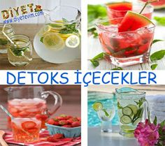 detoks içecek tarifleri Blackberry Tea, Raspberry Tea, Virgin Cocktails, Frozen Cocktails, Alcoholic Drinks, Beverages, Iced Tea, Summer Drinks, Fruit