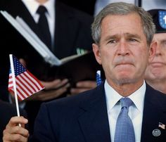 President George W. Bush ... This is a man that TRULY loves his country and what it stands for ...
