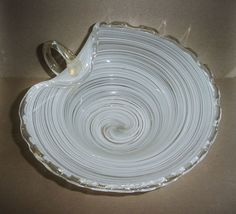 Murano Style Ashtray Attractive Fashion Antiques Gorgeous