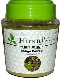Hirani's 100% Pure Natural Organically Grown Indigo Powder (150g / (1/3 lb) / 5.3 ounces) *** Check out this great image @ http://www.amazon.com/gp/product/B01BKIW7OM/?tag=passion4fashion003e-20&cd=050816213455