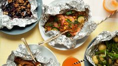 "A FOUR-COURSE FOIL PACK FEAST I've put @ course in a separate ""pin"""