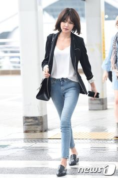 Sooyoung - Airport Fashion at Incheon Airport (160506)