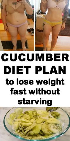 Try this cucumber diet plan to lose weight fast.