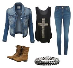 """""""Mila's casual wear"""" by pantsulord on Polyvore featuring WearAll and River Island"""