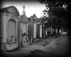 New Orleans Art Garden District Cemetery black and white by CAPow New Orleans Decor, New Orleans Art, New Orleans Homes, Oh The Places You'll Go, Places To Travel, Places Ive Been, Places To Visit, New Orleans Halloween, New Orleans Cemeteries