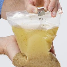 Science experiment with magnets: Put iron-fortified cereal (like Total) in a bag with water. Let it sit for 20 min., then rub a strong magnet all around. Pull it up to the top and you'll see you've collected the actual iron from your cereal!