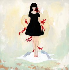 Mandy Cao, Embrace, 2015, Flower Pepper Gallery