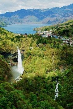 Kegon Waterfall near Nikko, Japan
