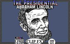 President, USA. Abraham Lincoln