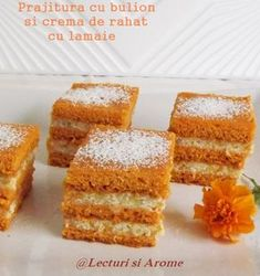Prajituri Archives - Page 13 of 22 - Lecturi si Arome Cookie Recipes, Vegan Recipes, Good Food, Yummy Food, Vegan Sweets, Afternoon Tea, Cornbread, Deserts, Food And Drink