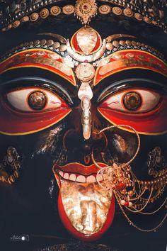 Jay Maa Kali, Kali Mata, Mother Kali, Divine Mother, Kali Goddess, Mother Goddess, New Instagram Logo, Durga Painting, Navratri Images