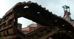 Blick durch die Ketten, Zeche Zollverein, Essen - Foto: S. Hopp