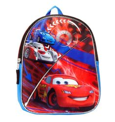 Disney Cars Lightning McQueen Blanket with Toddler Backpack 30x43 ...