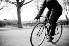 B&W | Flickr - #bikes #fixed