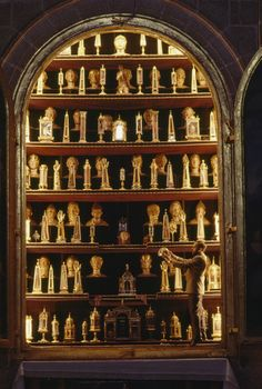 Relics in Madrid at El Escorial palace