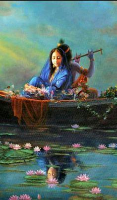 Ideas Painting Love Radha Krishna For 2019 Señor Krishna, Krishna Leela, Radha Krishna Love Quotes, Jai Shree Krishna, Radha Krishna Pictures, Lord Krishna Images, Radha Krishna Photo, Hare Krishna, Hanuman
