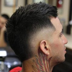 Mens Hairstyles With Beard, Cool Hairstyles For Men, Hair And Beard Styles, Hairstyles Haircuts, Haircuts For Men, Short Hair Styles, Mullet Fade, Burst Fade Mohawk, Faded Hair